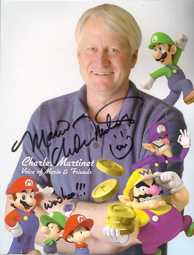 Кто озвучивал Марио? Чарльз Мартине! 17 сентября у него день рождения