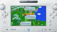 NSMB. U en el mapa del Wii-U