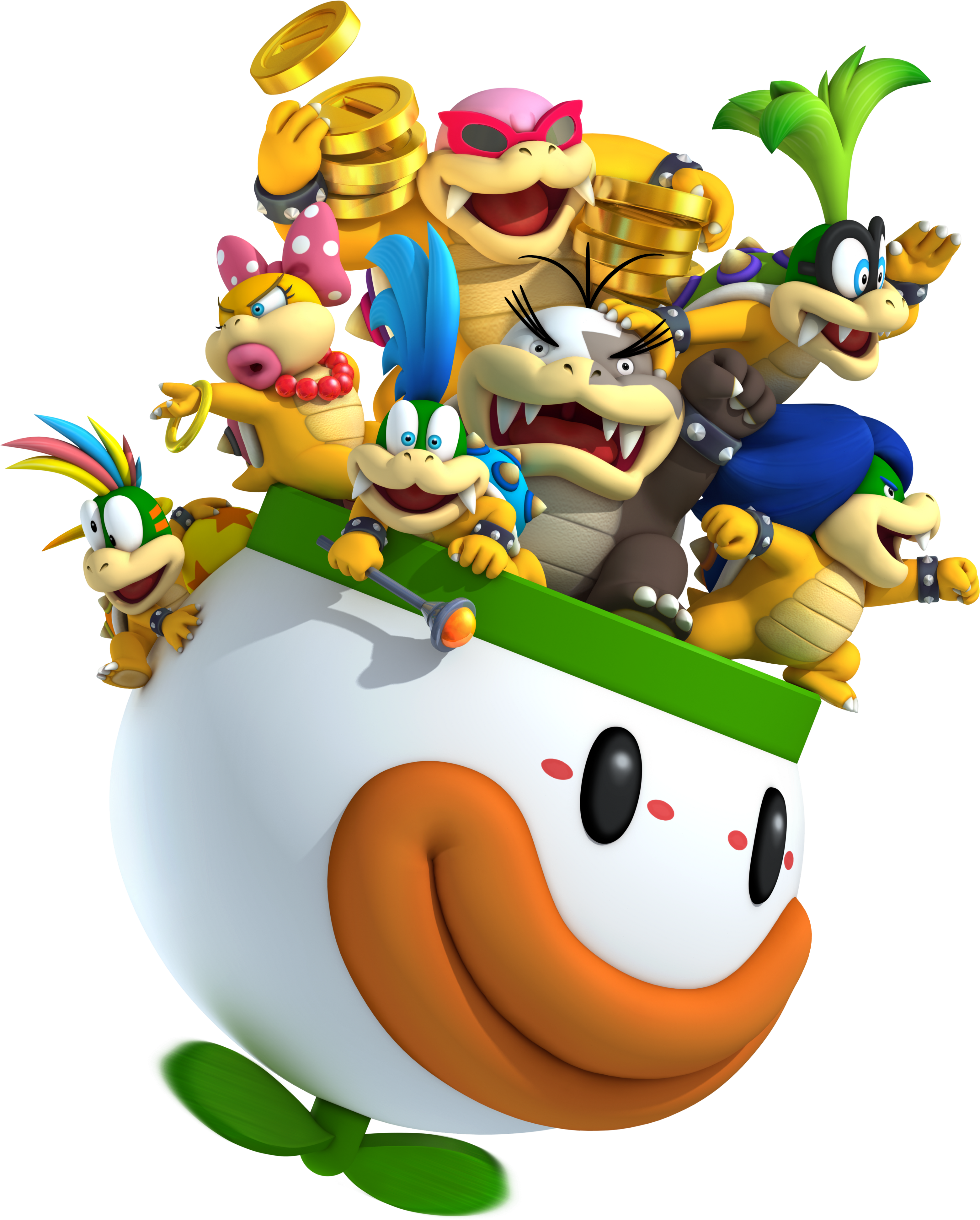 NSMB2 Artwork Koopalinge