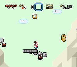 SMW Screenshot Schoko-Insel 3