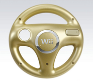 Wii Wheel Dorado