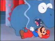 Dino rhino dans le dessin animé