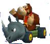 MKDS Screenshot Donkey Kong