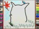 Mario Artist - Paint Studio Pikachu