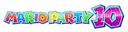 Mario Party 10 second logo