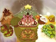 Royaume champignon mario & luigi frères passé