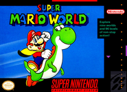 Super Mario World - North American Boxart