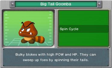 BISDX- Big Tail Goomba Profile
