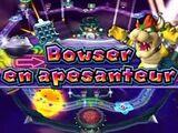 Bowser en apesanteur