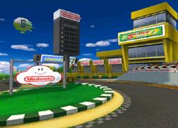 MKDD Screenshot Luigis Piste