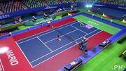 Mario Tennis Aces Stadion Welt
