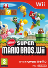New Super Mario Bros. Wii front cover (US)