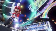 Rainbow Road Mario Kart 8