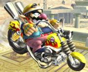 Wario Bike SSBB