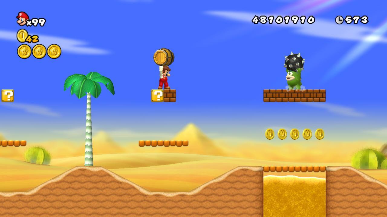 World 2-2 (New Super Mario Bros  Wii) | MarioWiki | FANDOM
