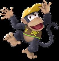 Art Diddy Kong jaune foncé Ultimate