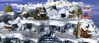 DKC Sprite Gorilla-Gletscher