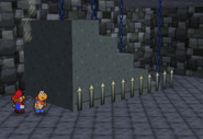 Descending Stair Case (Paper Mario)