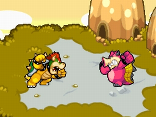 M&L3 Screenshot Bowser und Metaboss