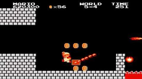 Super Mario Bros. - World 5-4