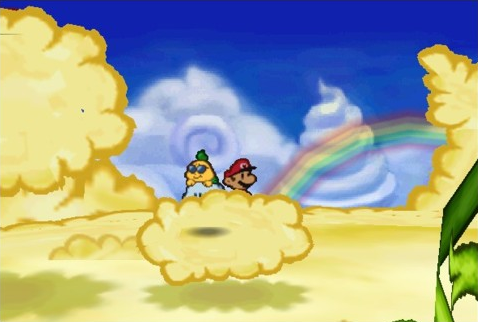 New Super Mario Bros Lambda The Fire Flower Gives Mario 1000 Points