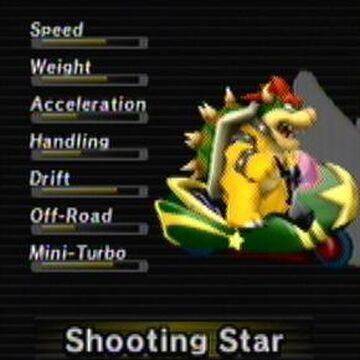 Shooting Star Mario Kart Wii Mariowiki Fandom