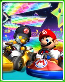Robo-Mario und Mario