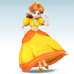 Daisy Mod in Super Smash Bros