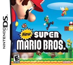 New Super Mario Bros. North America Front Box