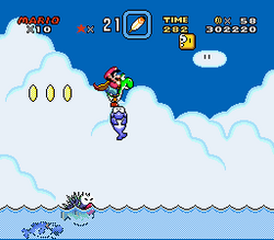 SMW Screenshot Vanille-Rätsel 3