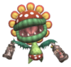 SSBB Sprite Mutant-Tyranha-Trophäe