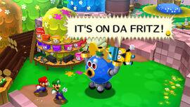 Mario and luigi dream team fritz header