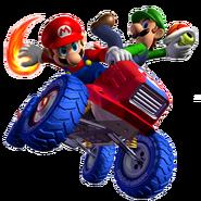 Mario y Luigi MKDD 5