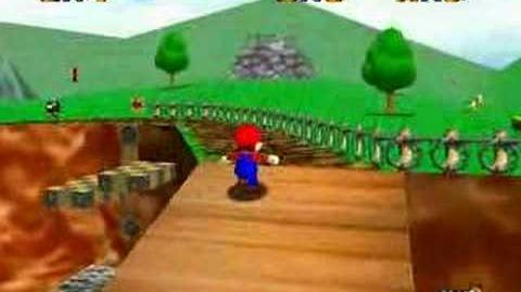 Super Mario 64 Walkthrough (Shoot To The Island In The Sky)