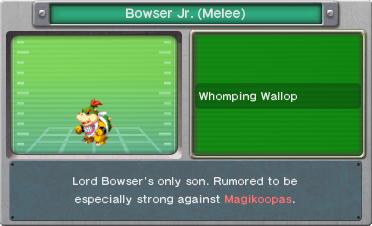BISDX- Bowser Jr. (Melee) Profile