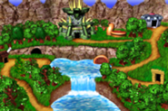 DKC3GBA Screenshot Welt Kaos