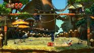 DKCTF Screenshot 3-Boss Savannensause (Nach 0 Treffern)