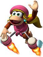 Donkey Kong Jet Dixie Kong Wii