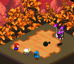 SMRPG Screenshot Klebeball