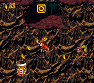 DKC2 Screenshot Dschungelzauber 3