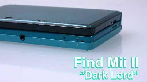 Find Mii II - Dark Lord