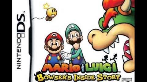 Mario & Luigi Bowser's Inside Story Música de la pantalla de titulo