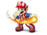 NES Open Tournament Golf Mario Costume réutilisé pour les Super Smash Bros