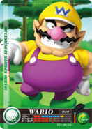 Carte amiibo Wario golf