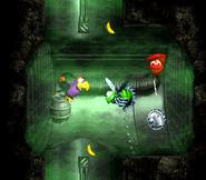 DKC3 Screenshot Laues Labyrinth 6