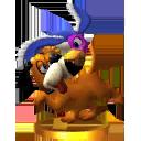 Duo Duck Hunt - SSB3DS (trophée)