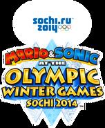 Mario&SonicSOTCHI2014 - Logo EN BETA