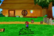 Outside the Goomba House (Paper Mario)