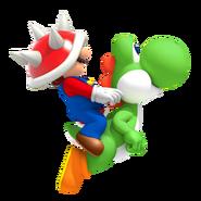 SMM3DSMario&Yoshi