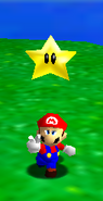 Super Mario 64 - Mario with a Power Star